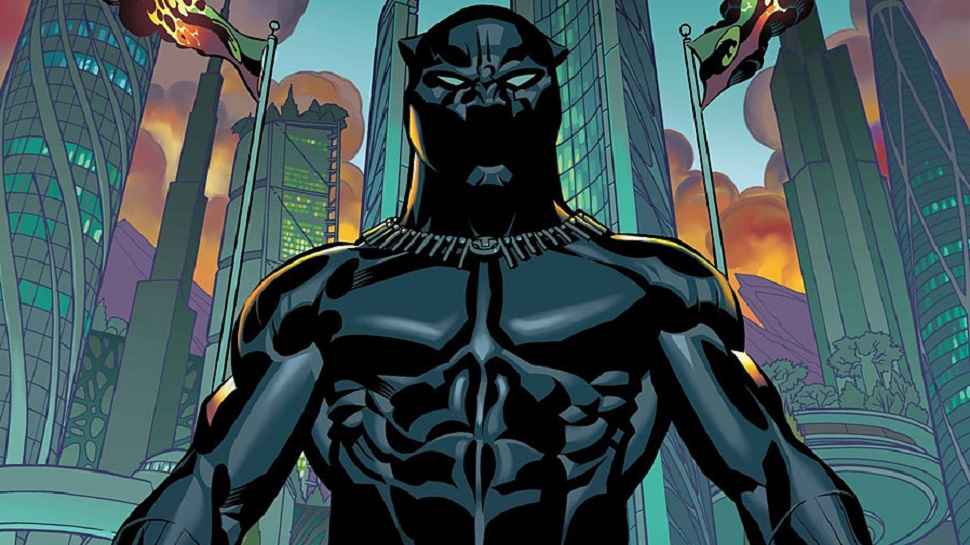 Black-panther-Comic